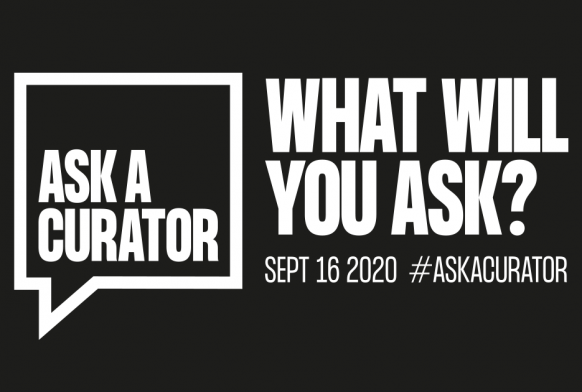 Ask A Curator, WHAT WILL YOU ASK?